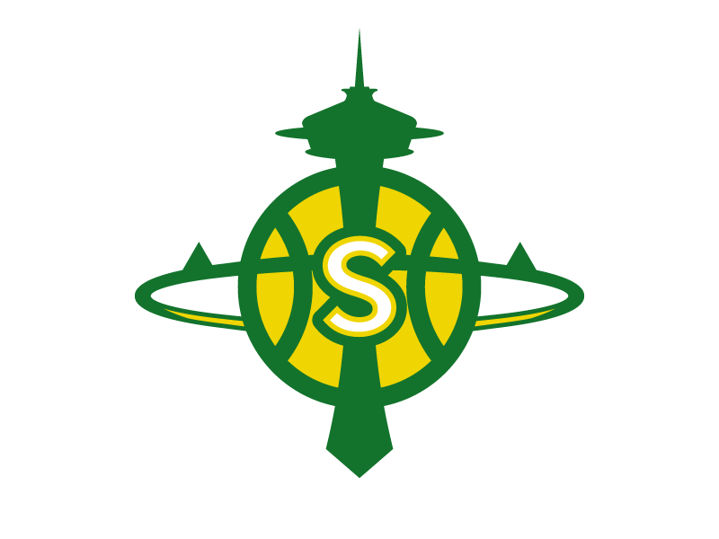 Seattle Supersonics Logo by Christopher Wilson on Dribbble.