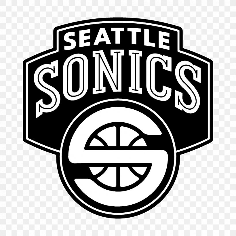 Seattle Supersonics Logo Brand Font Clip Art, PNG.