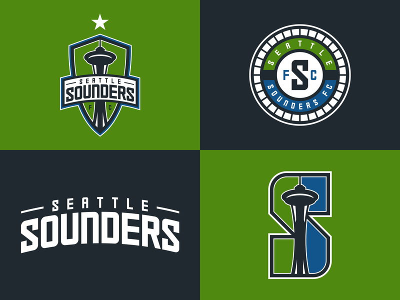 Seattle Sounders Logo Set Proposal by Addison Foote on Dribbble.