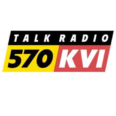 On Seattle\'s KVI radio station to discuss Seattle Times.