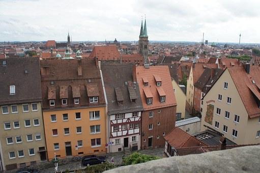 Nuremberg, Architecture, Buildings.