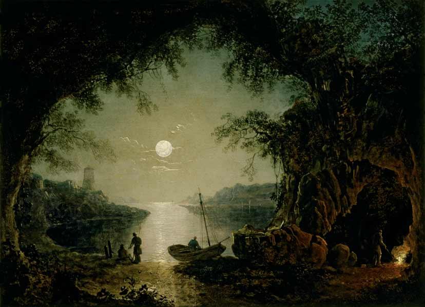 A Moonlit Cove.