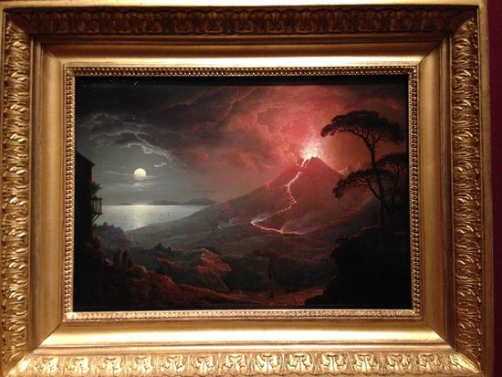 The Eruption of Vesuvius, 1825 by Sebastian Pether.