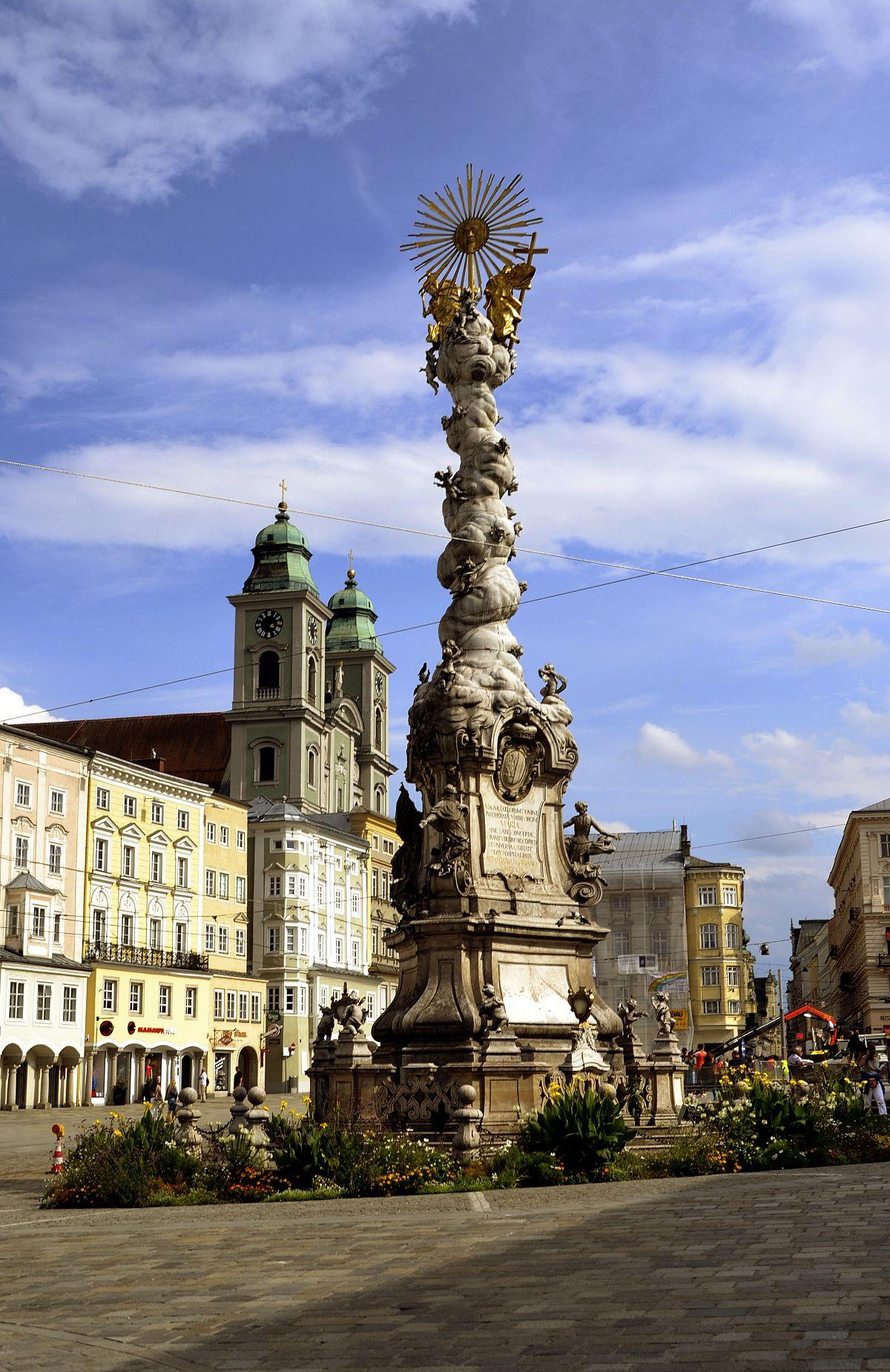 Colonna della Trinità (Linz).