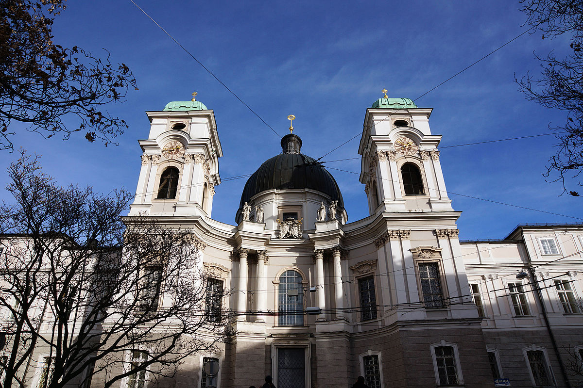 Holy Trinity Church, Salzburg.