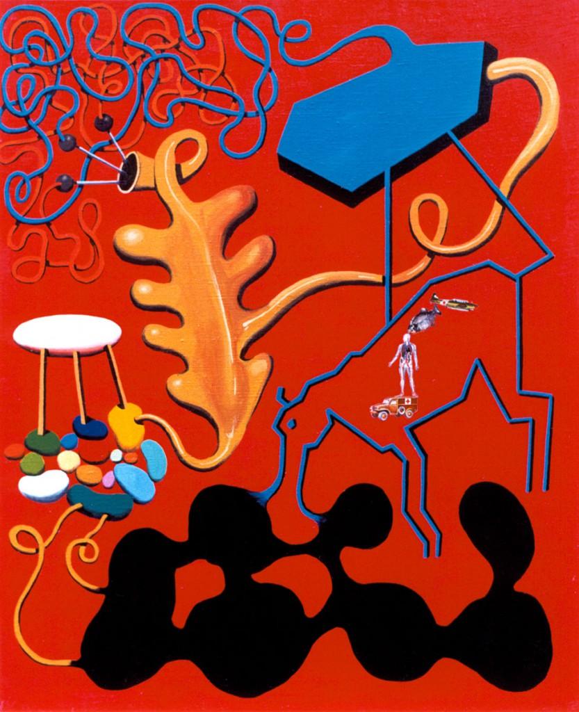Labyrinths & utopias, Oscar Seco painting serieOscar Seco official.