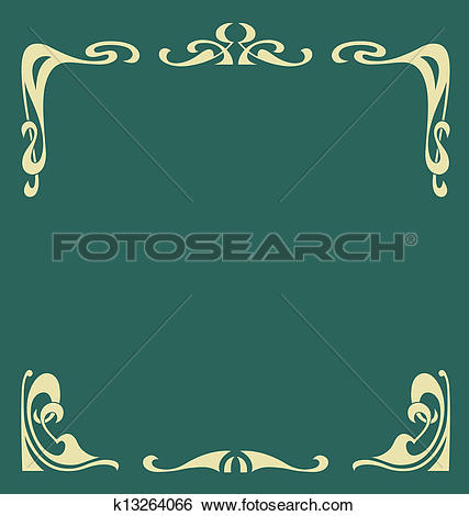 Clip Art of Secession frame k13264066.