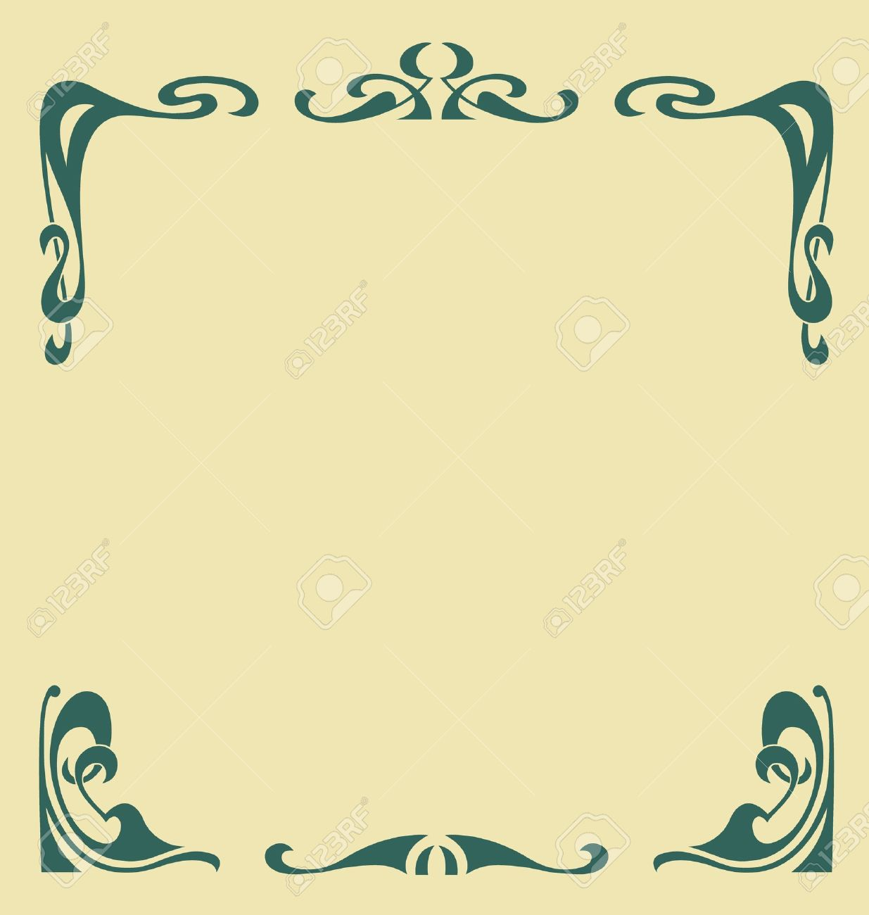 447 Secession Style Stock Vector Illustration And Royalty Free.