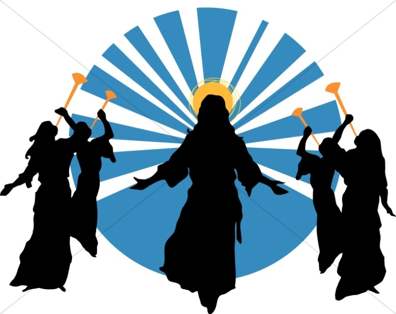 Clipart second coming of christ.