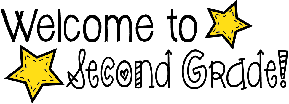 Welcome To Second Grade Clipart.