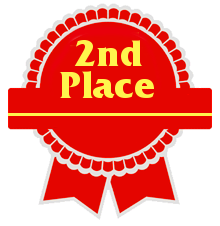 second place.