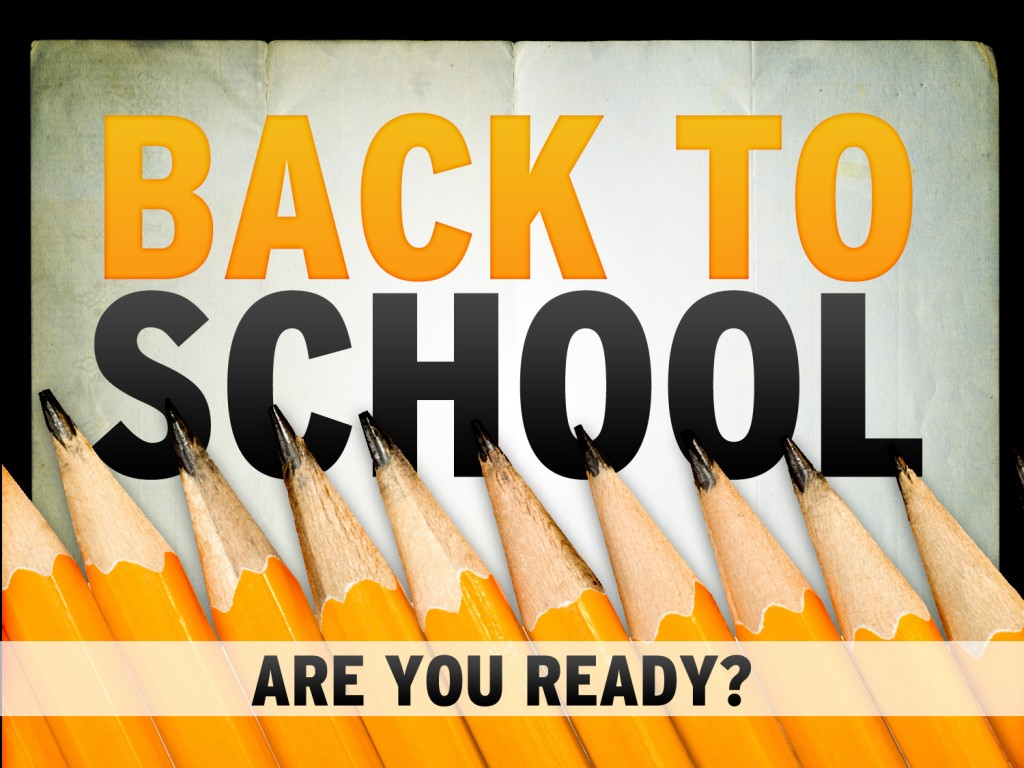 Back To School For Second Semester Clipart.