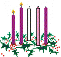 Second Sunday of Advent Free Clipart Images.