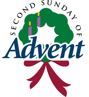 Second Sunday Of Advent Wreath Clipart.