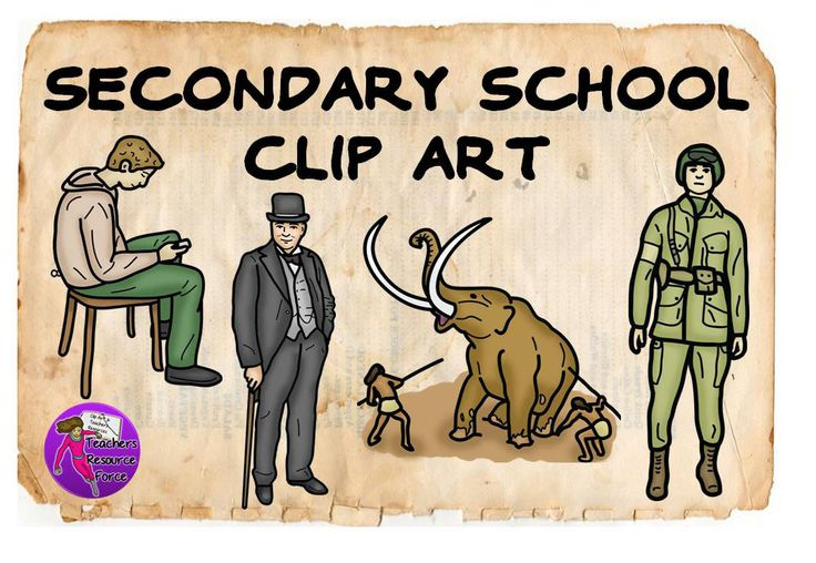 Clip art especially for your teenage students!.