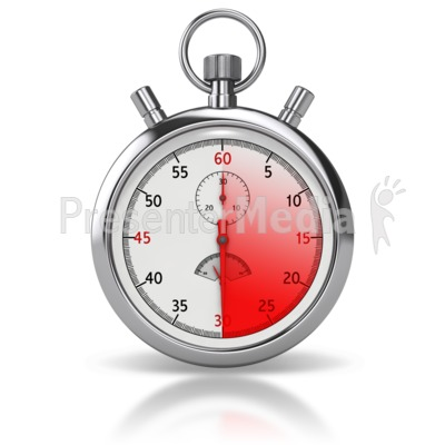 Stop Watch Sixty Seconds.