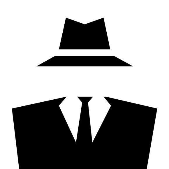 Spy Secret Agent Clipart.