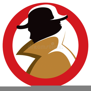 Secret Agent Man Clipart.