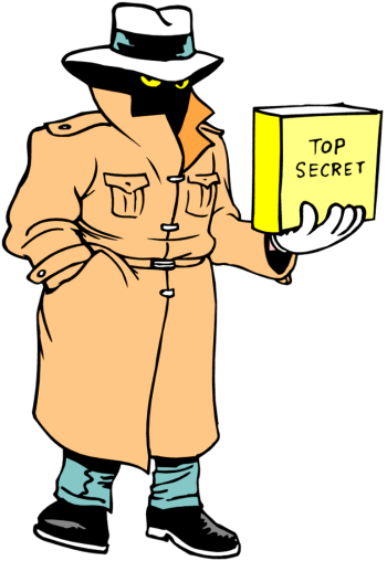 Secret Agent Clipart.