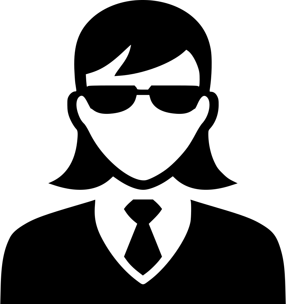 Secret Agent Woman Svg Png Icon Free Download.