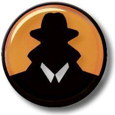 secret agent silhouette clip art.