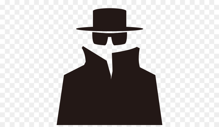 Espionage Detective Silhouette Intelligence Agency.