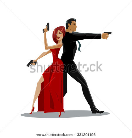 Secret Agent Stock Images, Royalty.