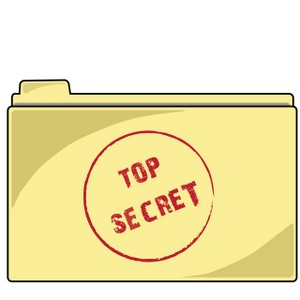 Top Secret Code Clipart.