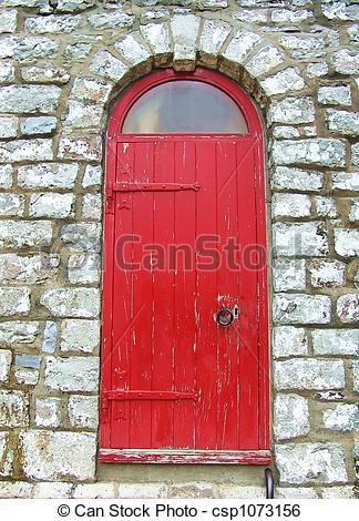Stock Image of Secret door.