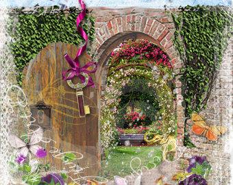 Secret Garden Clipart Clipground