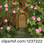 Secret Garden Clipart.