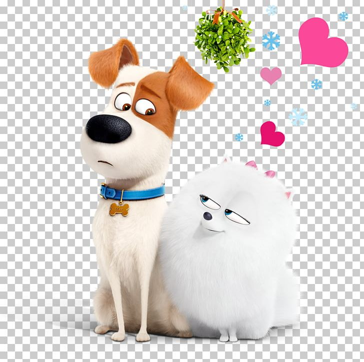 Jack Russell Terrier Max Gidget The Secret Life Of Pets PNG.