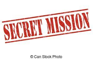 Secret Mission Clipart.