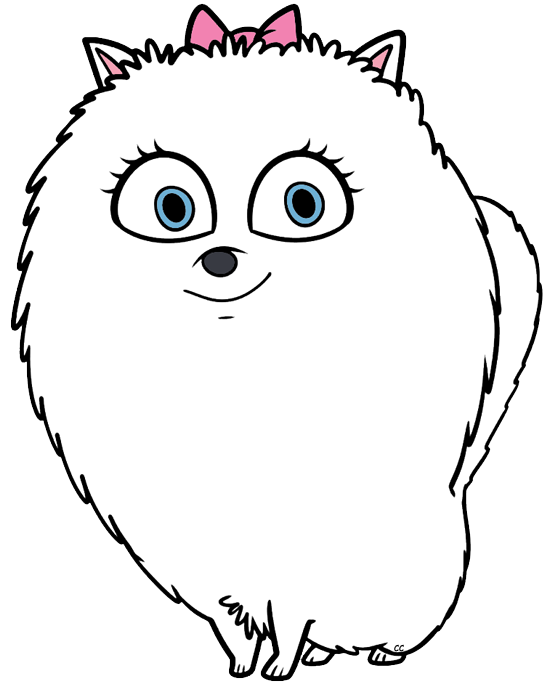 The Secret Life of Pets Clip Art Images.