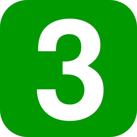 images of number 3.