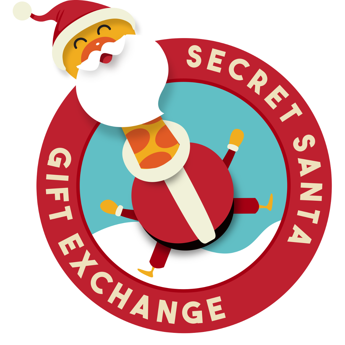 Secret Santa Clipart.