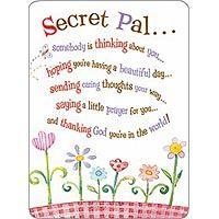 Free secret pal clipart.