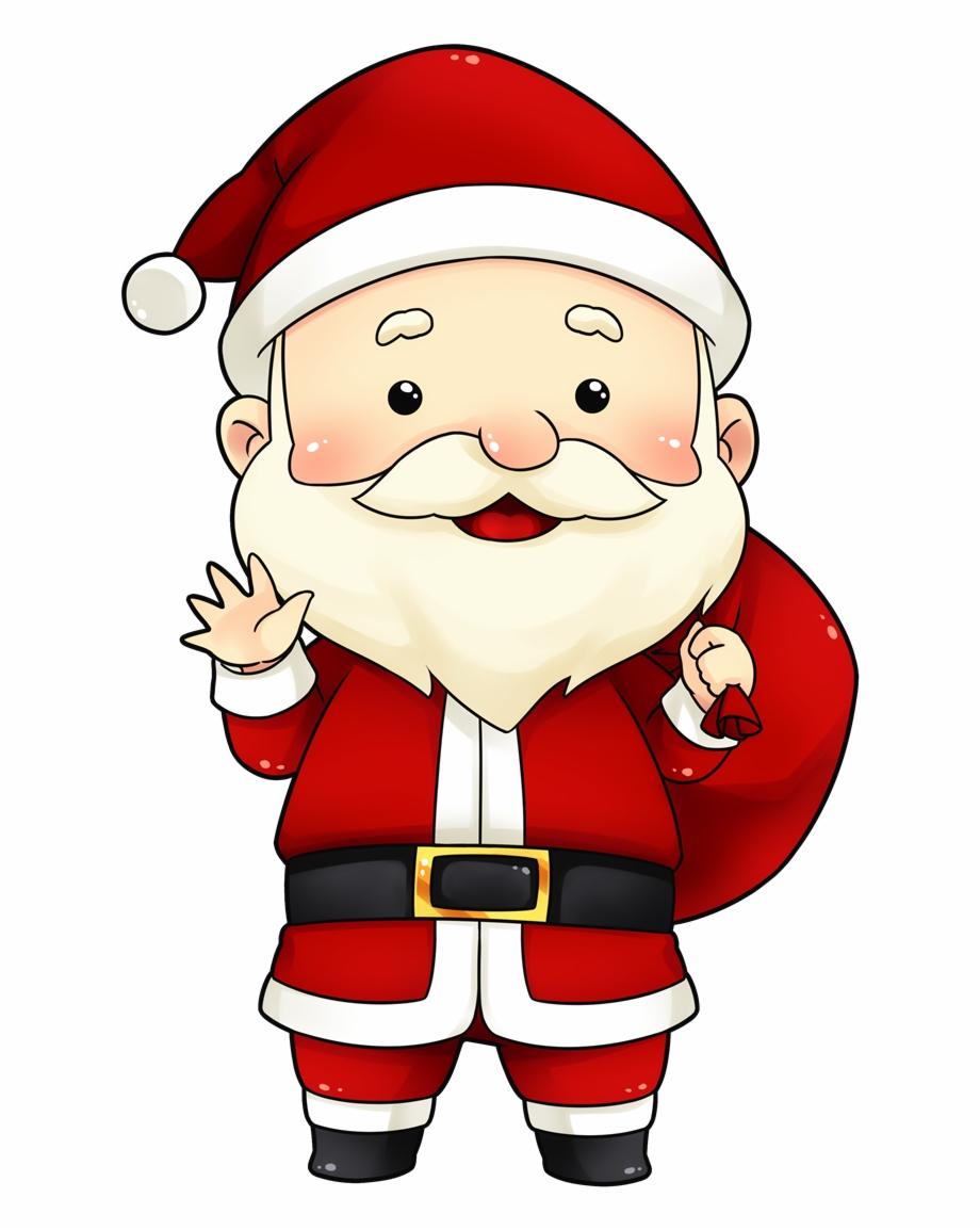 Cute Secret Santa Clipart.