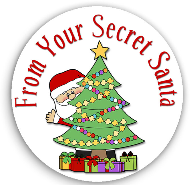 Secret santa clipart pinterest.