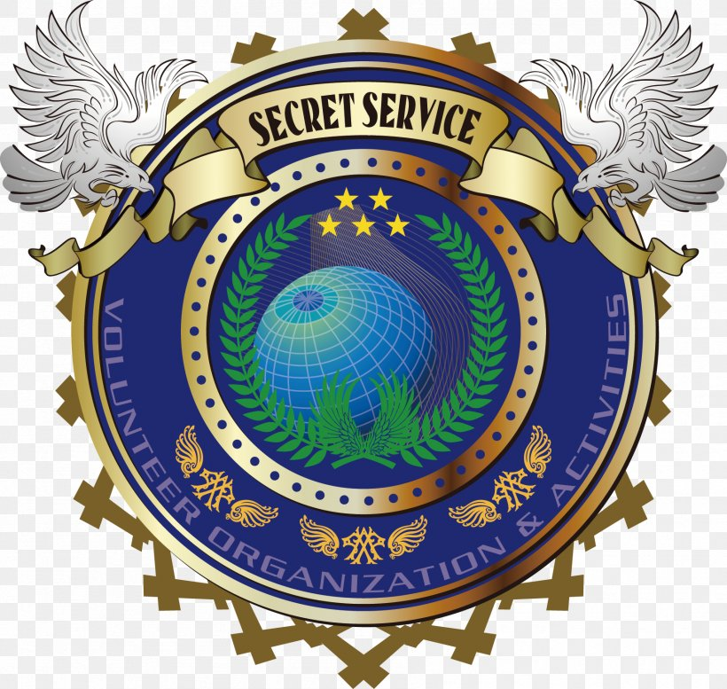 Emblem Logo Badge United States Secret Service, PNG.