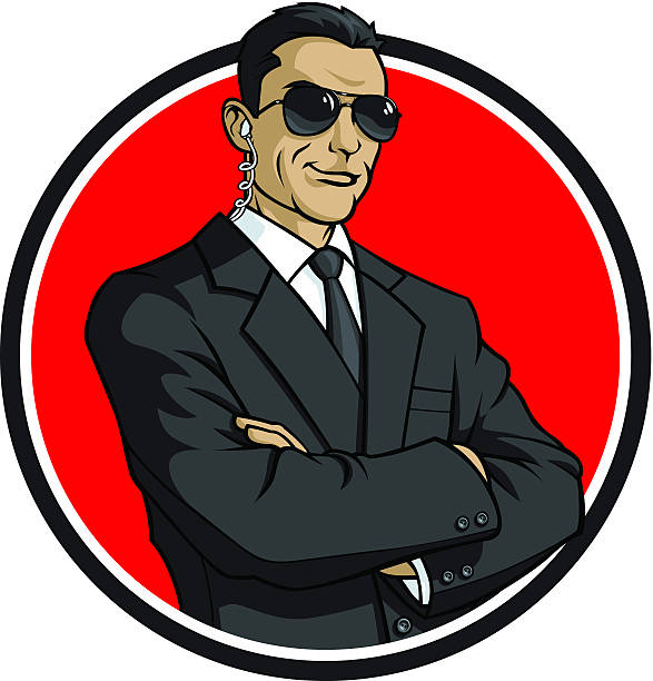 Secret Service Agents Clip Art, Vector Images & Illustrations.