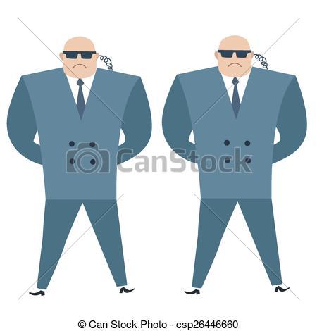Secret Service Men Clip Art.