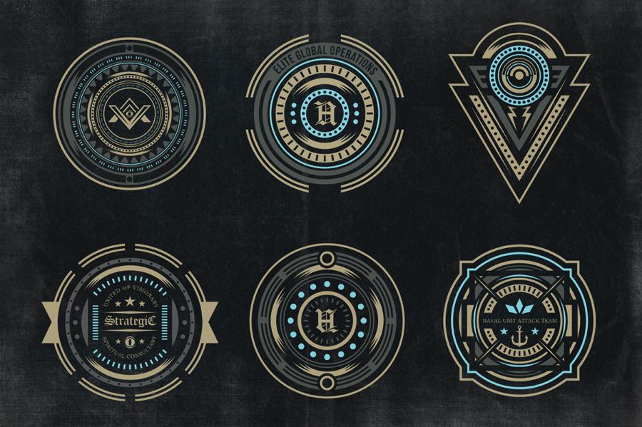 Secret society Logos.