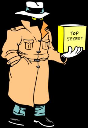 Secret Spy Clipart.