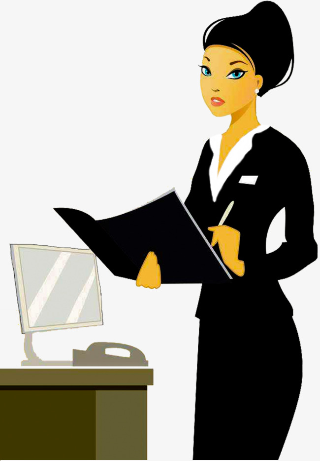 Secretarial clipart 9 » Clipart Station.