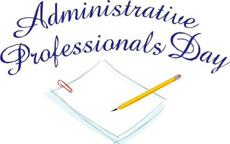 Professional Assistant Day Clipart.