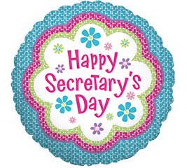 Happy Secretary Day Clipart.