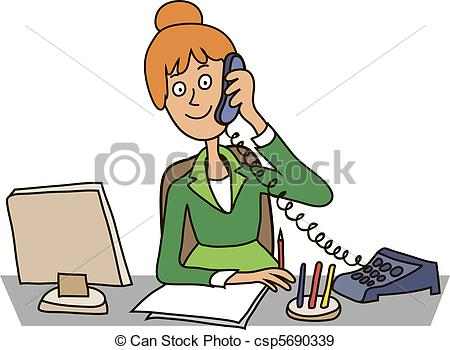Secretary Clip Art and Stock Illustrations. 13,539 Secretary EPS.