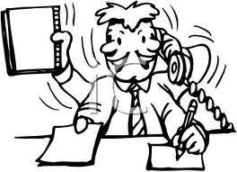 Image result for secretary clipart black and white.