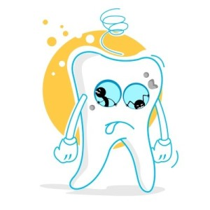 Broken Mouth With Teeth Clipart.
